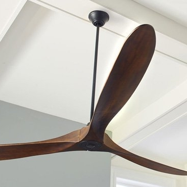 Most Popular Large Outdoor Ceiling Fans With Lights Intended For Large Outdoor Ceiling Fans: 62, 65, 70, 72 Inches & Bigger (View 3 of 15)