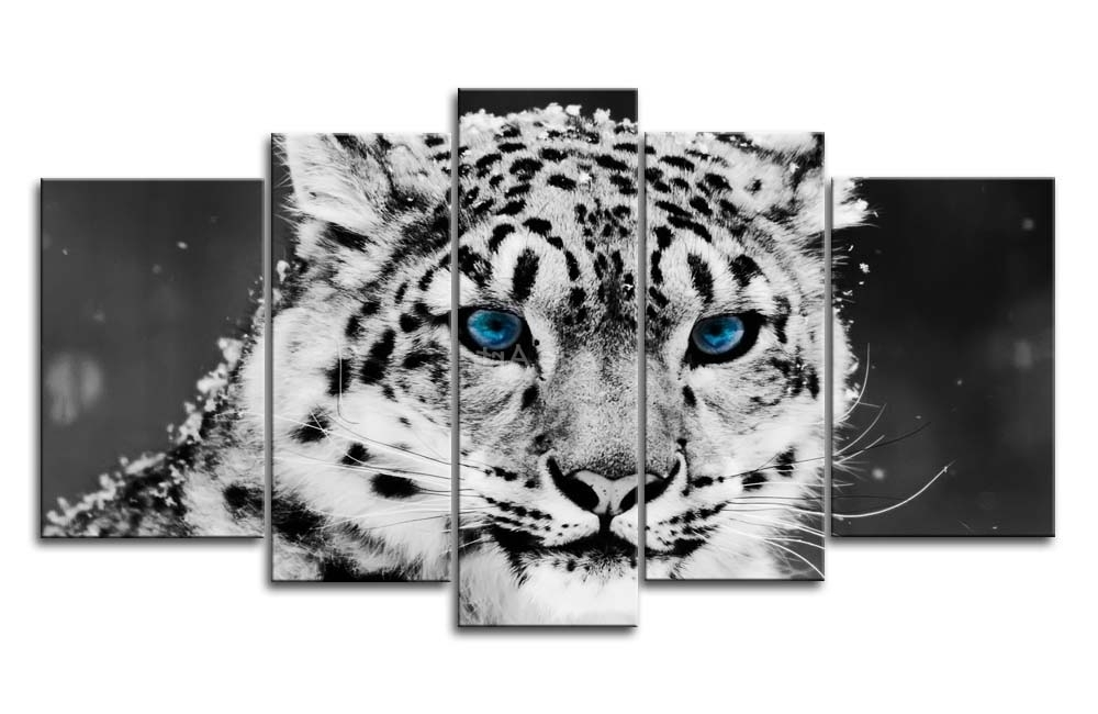 Most Popular Leopard Print Wall Art – Elitflat Inside Leopard Print Wall Art (View 11 of 15)