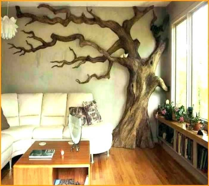 Most Popular Metal Wall Tree – Cozywp Pertaining To Tree Sculpture Wall Art (View 8 of 15)
