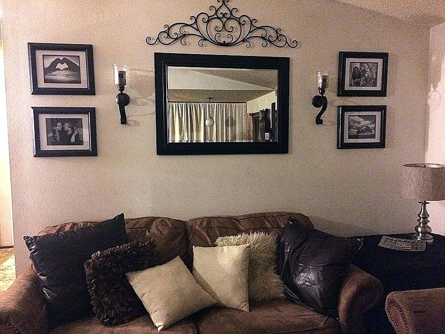 Most Popular Mirrored Frame Wall Art With Regard To Mirrored Frame Wall Art – Ecocasa (View 9 of 15)