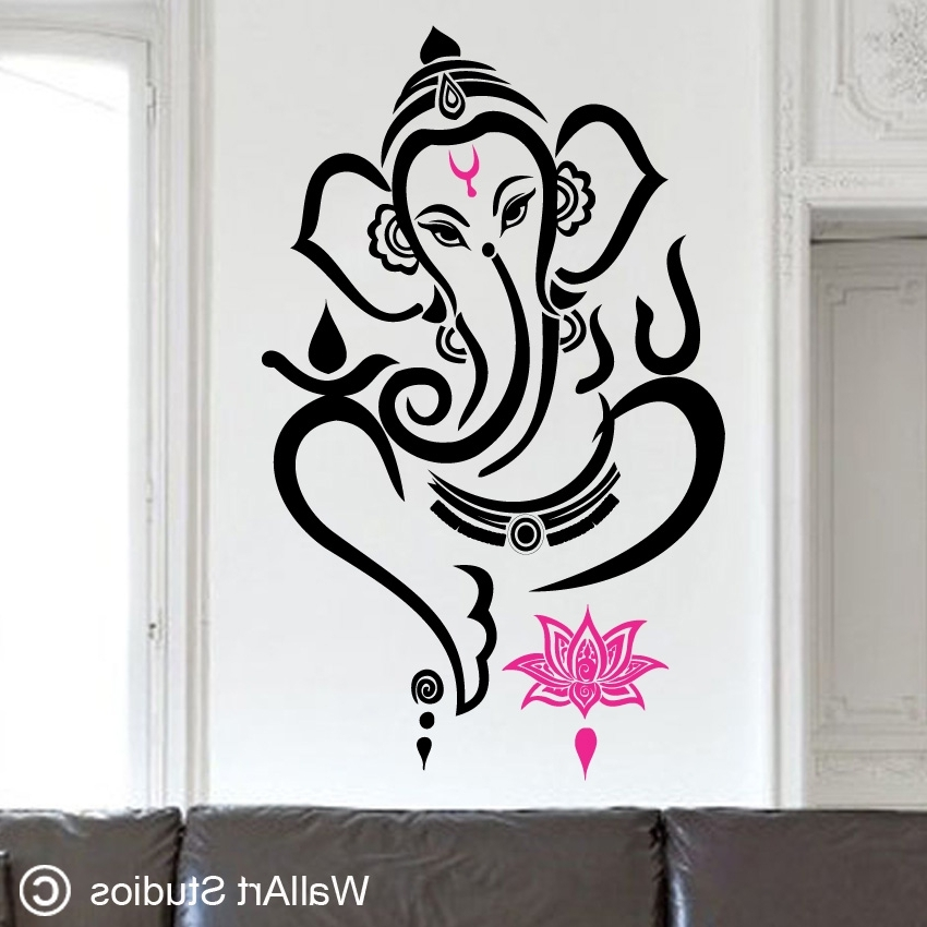 Most Popular Modern Ganesh Wall Art Elitflat Tae7 Ganesha 850X850 Captivating In Ganesh Wall Art (View 4 of 15)