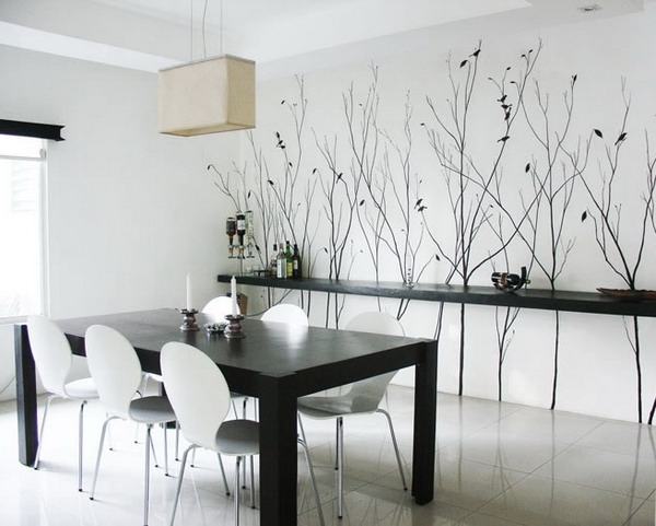 Most Popular Modern Wall Art For Dining Room Regarding Wonderful Modern Dining Room Wall Decor Ideas With Modern Dining (View 8 of 15)