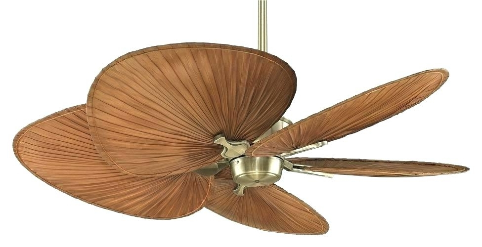 Most Popular Outdoor Ceiling Fan Blades Gallery Tropical Ceiling Fans Hi Outdoor Inside Outdoor Ceiling Fans With Leaf Blades (View 7 of 15)