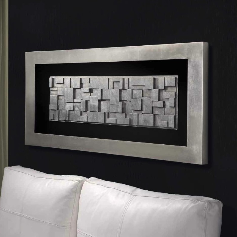 Most Popular Silver Framed Wall Art (View 8 of 15)