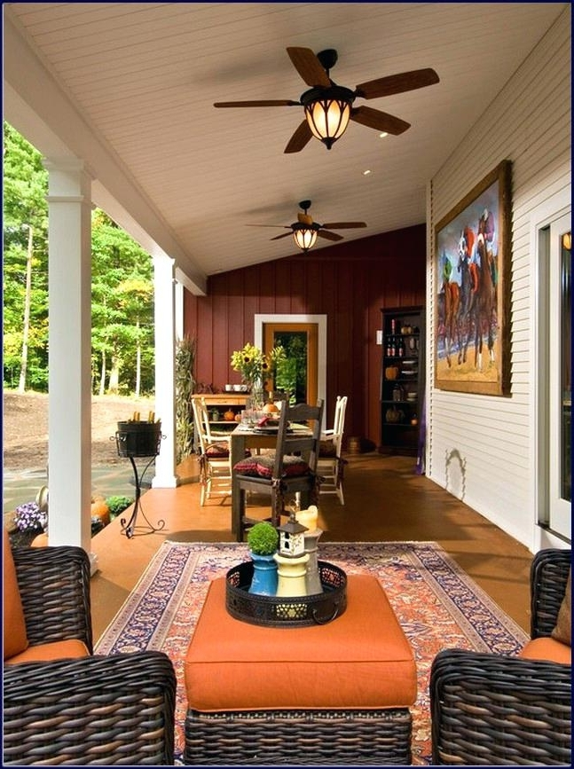 Most Popular Wonderful Outdoor Patio Ceiling Fans Craftmade Outdoor Patio Ceiling Intended For Outdoor Porch Ceiling Fans With Lights (View 5 of 15)
