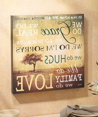 """Most Recent 16"""" X 16"""" We Do Grace Wall Art (View 6 of 15)"""