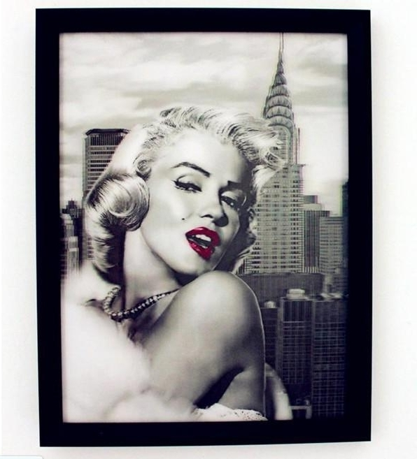 Most Recent 20 Inspirations Marilyn Monroe Framed Wall Art Wall Art Ideas For Marilyn Monroe Framed Wall Art (View 8 of 15)