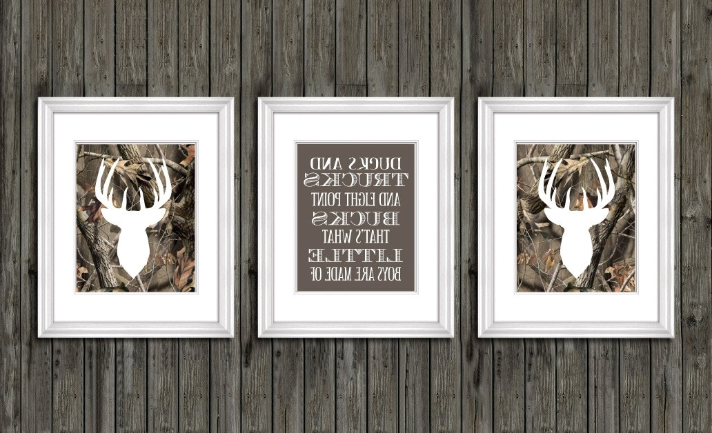Most Recent Camouflage Wall Art Within Camouflage Nursery Decor – Noakijewelry (View 12 of 15)