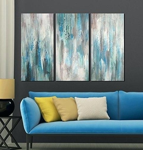 Most Recent Canvas Wall Art Sets Of 3 Regarding Sets Of 3 Wall Art – Easyslim (View 10 of 15)
