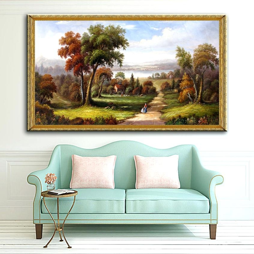 Most Recent Country Canvas Wall Art With Regard To Country Canvas Wall Art Country Canvas Wall Art Pattern Art Wall (View 13 of 15)