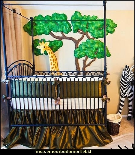 Most Recent Decorating Theme Bedrooms – Maries Manor: Jungle Baby Bedrooms For Baby Nursery 3D Wall Art (View 10 of 15)