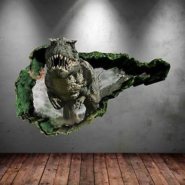 Most Recent Dinosaurs 3D Wall Art Intended For  (View 11 of 15)
