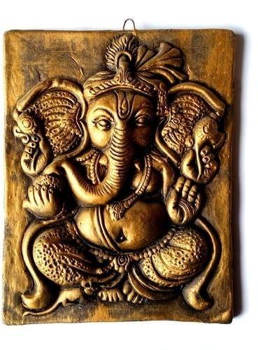 Most Recent Ganesh Wall Art Inside Decorative Terracotta Ganesh & Ganpati Wall Hanging At Rs 500 /piece (View 13 of 15)