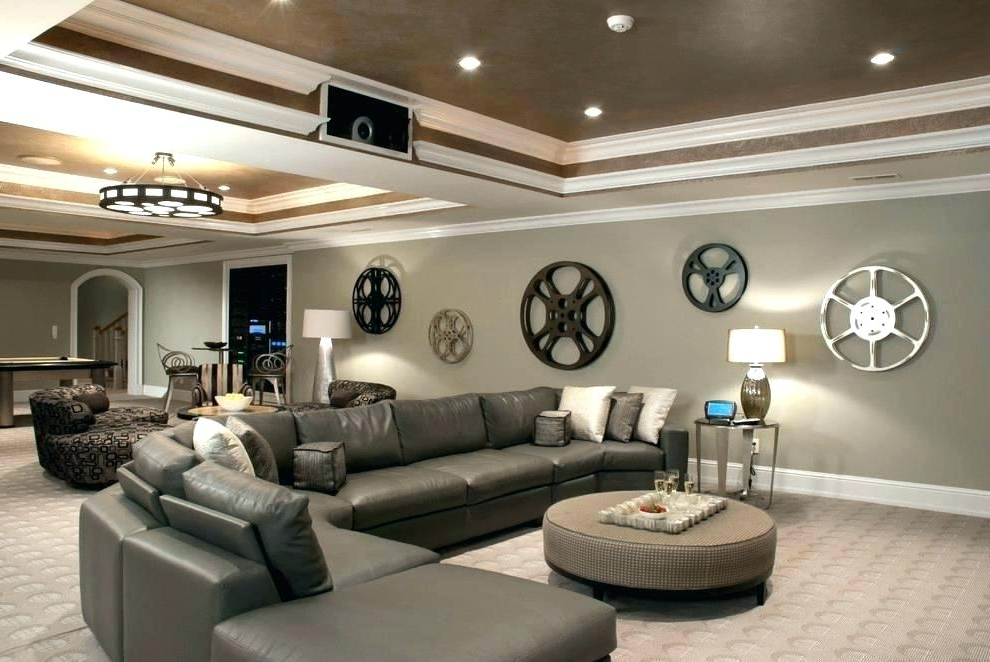 Most Recent Home Theater Wall Art Pertaining To Home Theater Wall Decor Movie Reel And Film Sign Metal Art Engaging (View 6 of 15)
