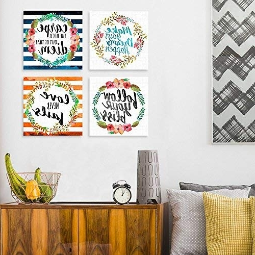 Most Recent Inspirational Canvas Wall Art In Canvas Inspirational Wall Art: Amazon (View 5 of 15)