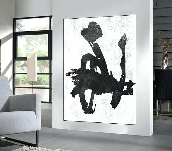 Most Recent Large Black And White Wall Art Canvas Prints Framed – Crystalfrost Regarding Large Black And White Wall Art (View 11 of 15)