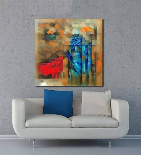 Most Recent Limited Edition Wall Art Pertaining To Buy Artflute Canvas 24 X 1 X 24 Inch Krishna Framed Limited Edition (View 10 of 15)
