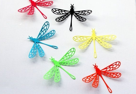 Most Recent Multicolored – Dragonfly Wall Art – Dragonfly Wall Decor – Dragonfly Inside Dragonfly 3D Wall Art (View 4 of 15)