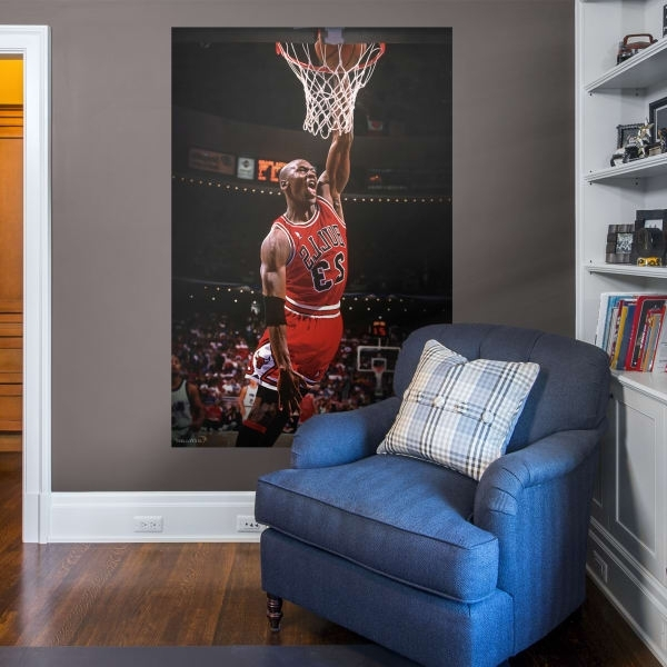 Most Recent Nba Wall Murals Within Wall Murals Fathead Wall Decals & More (View 7 of 15)