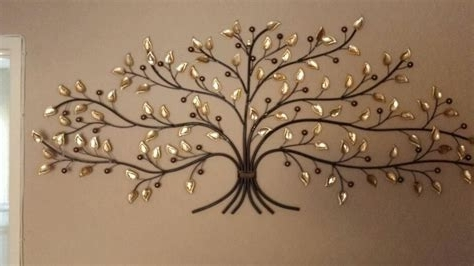 Most Recent Oak Tree Wall Art Throughout Wall Art Ideas Design : Painting Decorating Metal Oak Tree, Metal (View 15 of 15)