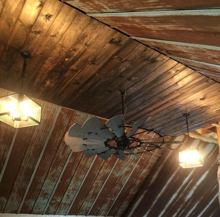 Most Recent Outdoor Windmill Ceiling Fans With Light Pertaining To Windmill Ceiling Fan 72 Tx Outdoor With Light – Scoopreprintsource (View 5 of 15)