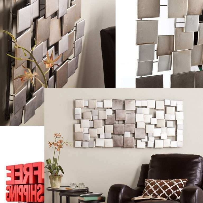 Most Recent Sculpture Abstract Wall Art In Modern Wall Art Decor Awesome Metal Sculpture Abstract Modern Silver (View 13 of 15)