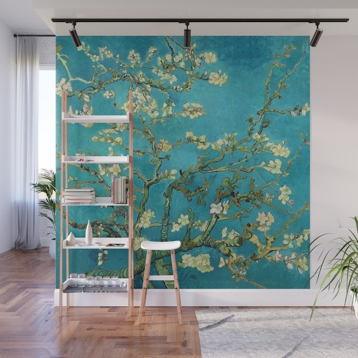 Most Recent Vincent Van Gogh Blossoming Almond Tree Wall Muralartgallery Throughout Almond Blossoms Vincent Van Gogh Wall Art (View 10 of 15)