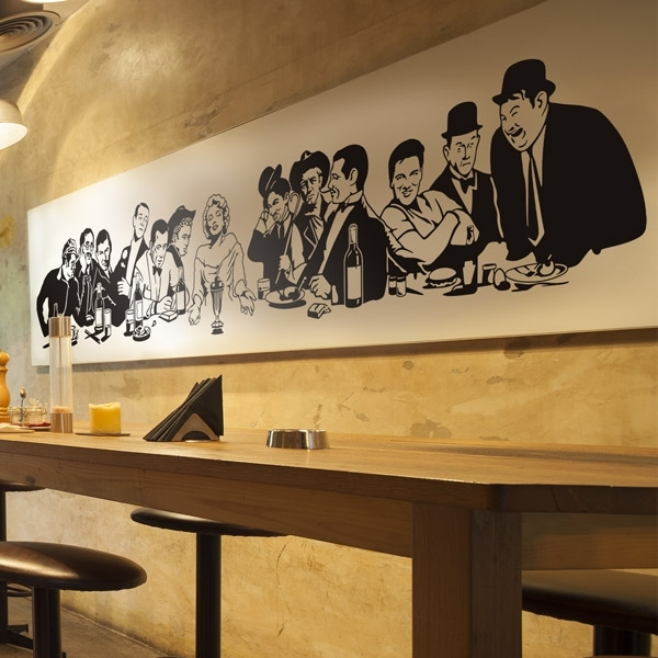 Most Recent Wall Sticker The Last Supper In Hollywood (View 14 of 15)