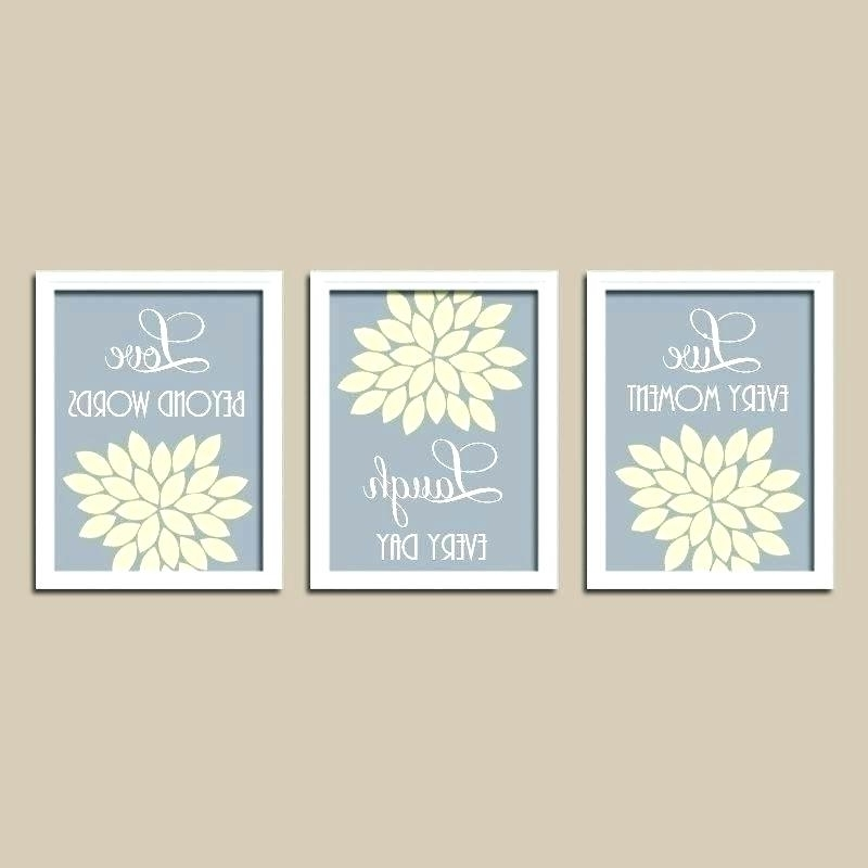 Most Recent Yellow And Green Wall Art Throughout Yellow And Gray Canvas Wall Art Large Grey – Vtable (View 13 of 15)