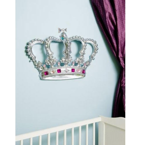 Most Recently Released 3D Princess Crown Wall Art Decor In Baby Furniture & Bedding 3D Princess Crown Wall Art Decor (View 5 of 15)