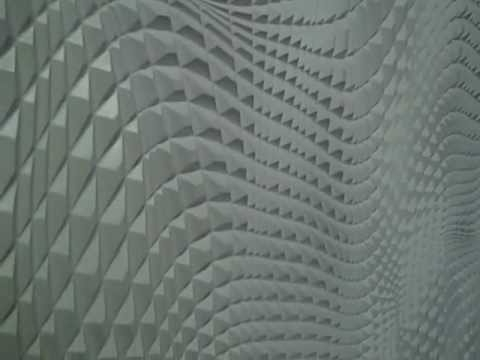 Most Recently Released 3D Wall Panels,sculpted Mdf Panels (Wavy Wall) Made In America 215 Within Vidella 3D Wall Art (View 5 of 15)