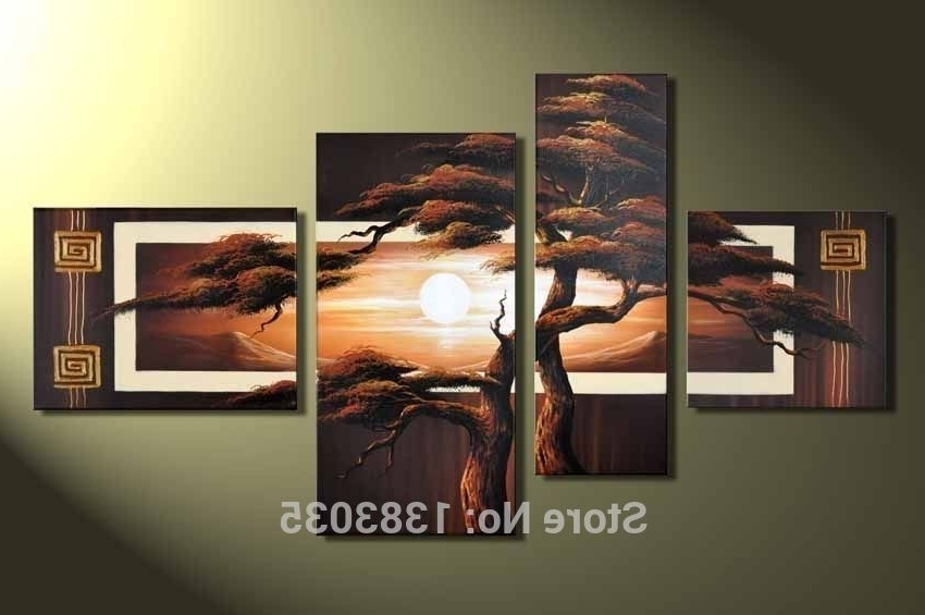 Most Recently Released 4 Piece Wall Art Sets Intended For Modern Canvas Wall Art Sets (View 9 of 15)