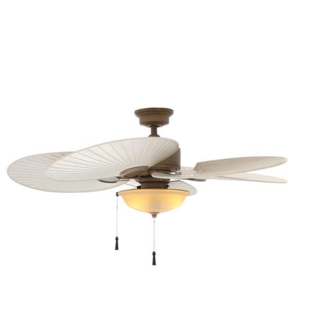 Most Recently Released 48 Outdoor Ceiling Fans With Light Kit Throughout Hampton Bay Havana 48 In (View 10 of 15)