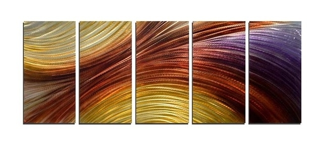 Most Recently Released Abstract Wall Art 3D In Everfun Art Free Shipping Modern Abstract Original Handcraft Metal (View 12 of 15)