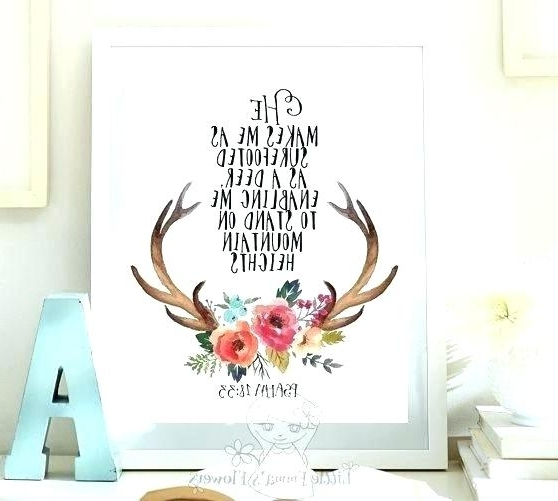 Most Recently Released Bible Verses Wall Art – Dannyjbixby With Regard To Nursery Bible Verses Wall Decals (View 8 of 15)
