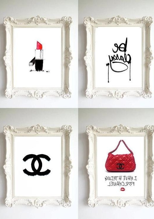 Most Recently Released Classy Wall Art For Be Classy Chanel Wall Art Prints (View 2 of 15)