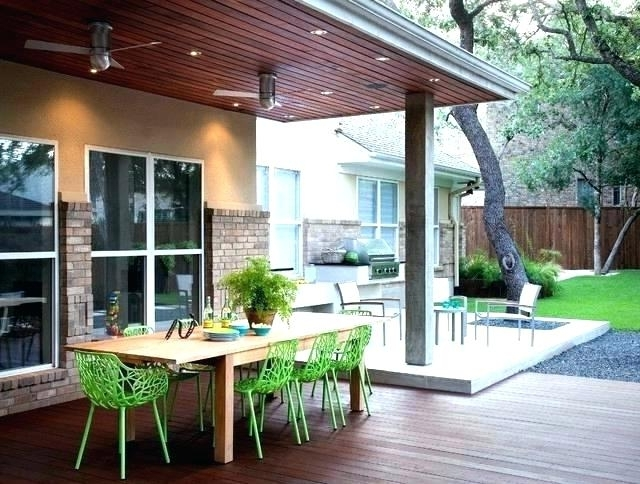 Most Recently Released Contemporary Outdoor Ceiling Fans Pertaining To Modern Outdoor Ceiling Fans Contemporary Deck Fan Exterior (View 10 of 15)