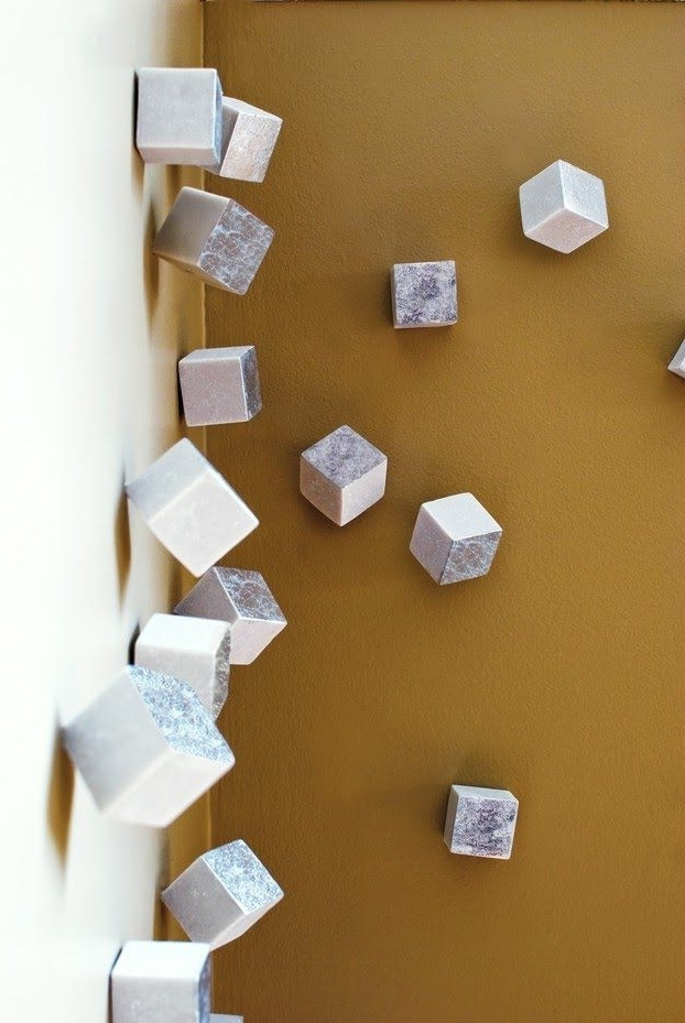 Most Recently Released Cubes 3D Wall Art Inside Easy Diy 3D Artwork. Cubes That Simply Screw Into The Wall (View 10 of 15)