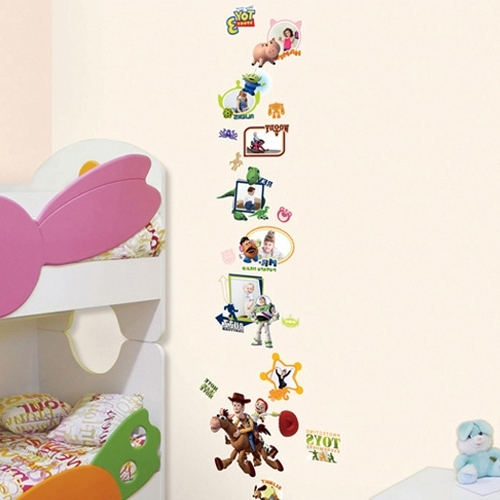 Most Recently Released Disney Toy Story Wall Stickers – Wallstickery In Toy Story Wall Stickers (View 3 of 15)