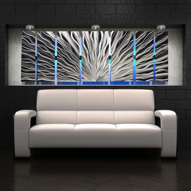 Most Recently Released Fantastical Metal Abstract Wall Art – Ishlepark Regarding Metal Abstract Wall Art (View 10 of 15)