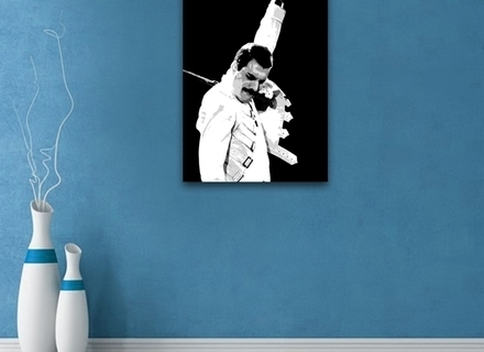 Most Recently Released Freddie Mercury Wall Art Throughout Freddie Mercury Wall Art – Copperc Art Cafe (View 15 of 15)