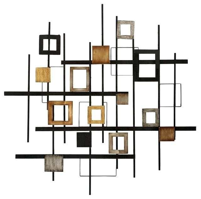 Most Recently Released Inexpensive Abstract Metal Wall Art Regarding Wall Art Decor Cheap Metal Abstract Wall Decor Contemporary Metal (View 6 of 15)