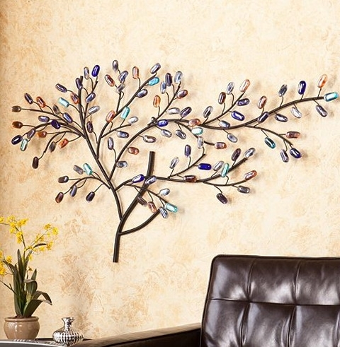 Most Recently Released Kohls Wall Art Decals Pertaining To Metal Tree Wall Art Kohls Home Design Ideas Detail Decor New Fancy (View 11 of 15)