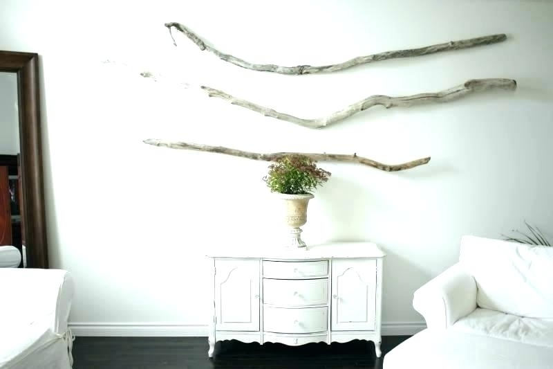Most Recently Released Large Driftwood Wall Art Within Driftwood Wall Art Large Amusing Plus Decor Round White Daydream (View 13 of 15)