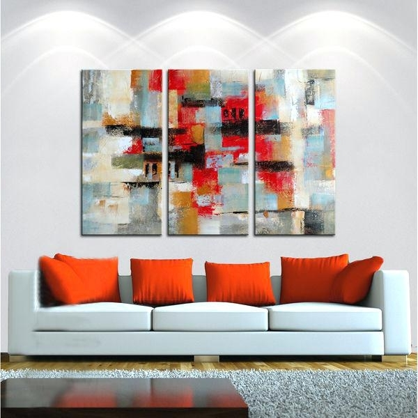 Most Recently Released Matching Canvas Wall Art Inside Matching Canvas Wall Art Matching Wall Art Hand Painted Oil Gallery (View 11 of 15)