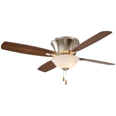"""Most Recently Released Minka Aire 52"""" Mojo Ii Flushmount 4 Blade Ceiling Fan & Reviews Within Wayfair Outdoor Ceiling Fans With Lights (View 6 of 15)"""