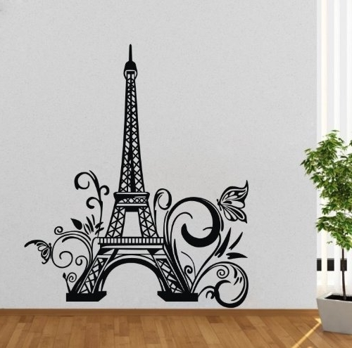 Most Recently Released Paris Vinyl Wall Art Regarding Sofa Ideas (View 7 of 15)