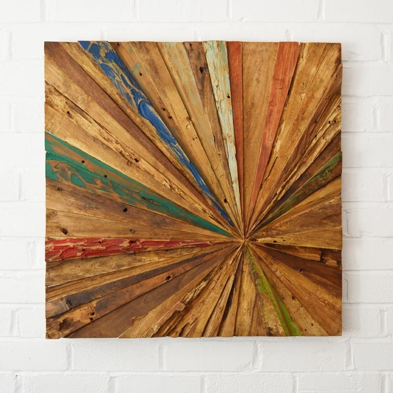 Most Recently Released Reclaimed Wood Wall Art – Coastalhome.co (View 5 of 15)