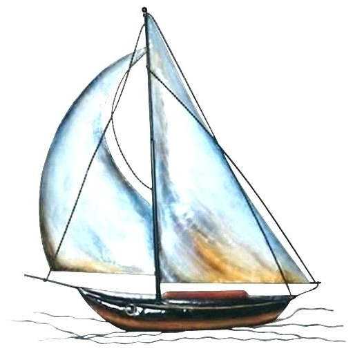 Most Recently Released Sailboat Wall Decor Boats Metal Sailboat Wall Decor – Andyrollett Inside Sailboat Metal Wall Art (View 6 of 15)