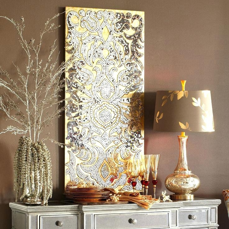 Most Recently Released Silver And Gold Wall Art Inside Gold And Silver Decor Best Ideas About Gold Canvas On Canvas Art In (View 9 of 15)